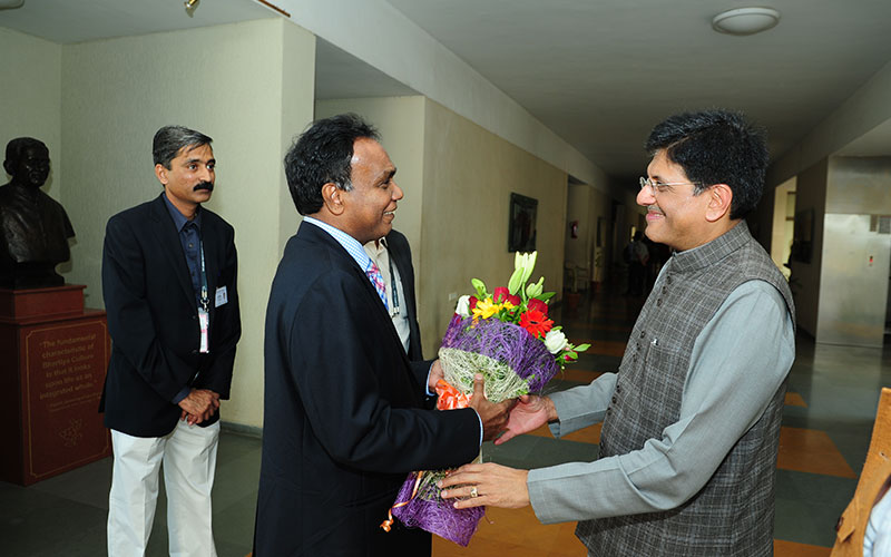 PIYUSH GOYAL, Hon'ble Minister of State