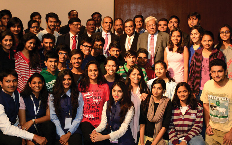 Group photo of enthusiastic Students of PDPU